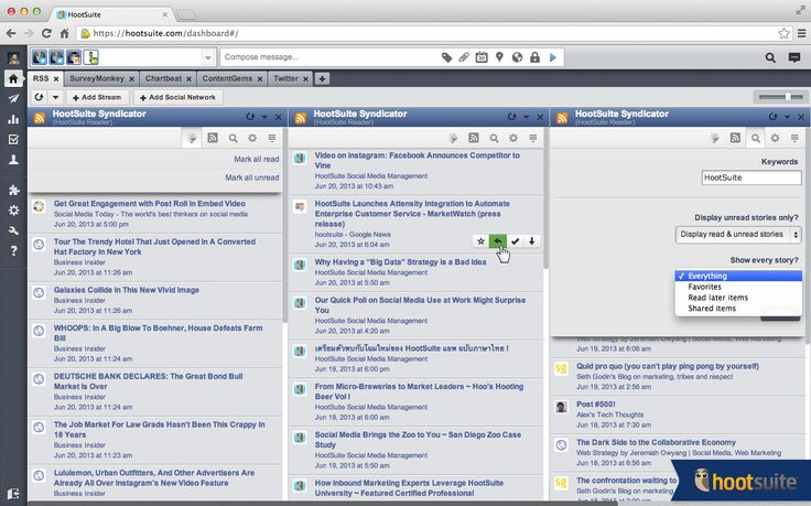 HootSuite Syndicator: Yet another new RSS app, but with a special twist for social media marketers