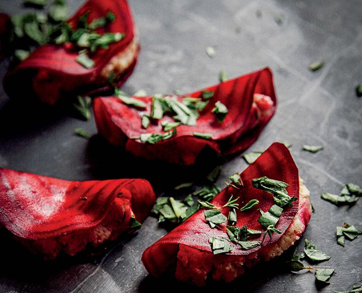 From The Rawsome Vegan Life cookbook: This raw recipe for Beet Ravioli are decadent and beautiful, but secretly so easy to make.