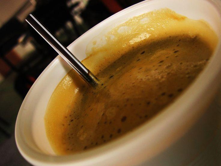 un café al desayuno