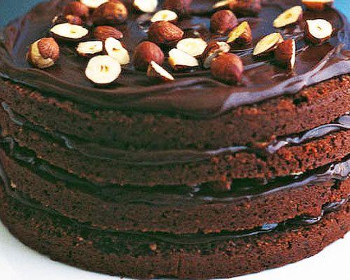 Decadent dark chocolate desserts