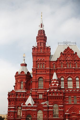Red Square, Moscow... Visited here
