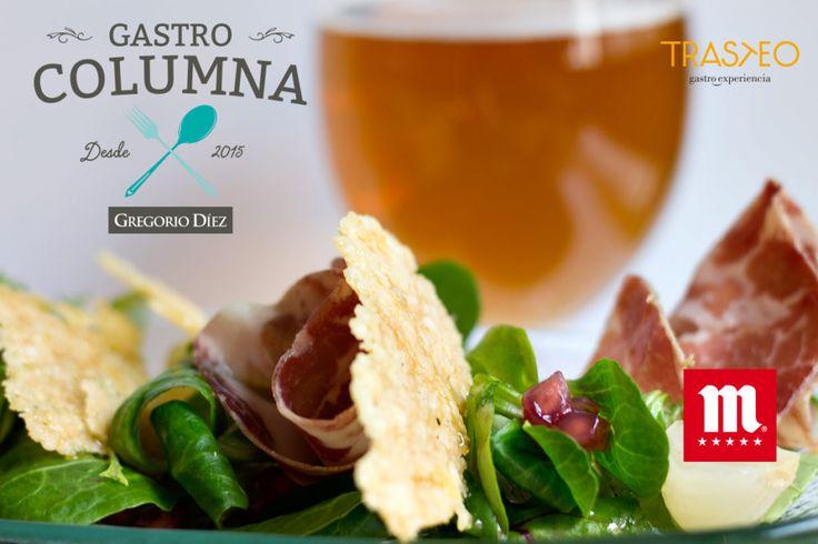 Ensalada italiana en el restaurante Trasteo