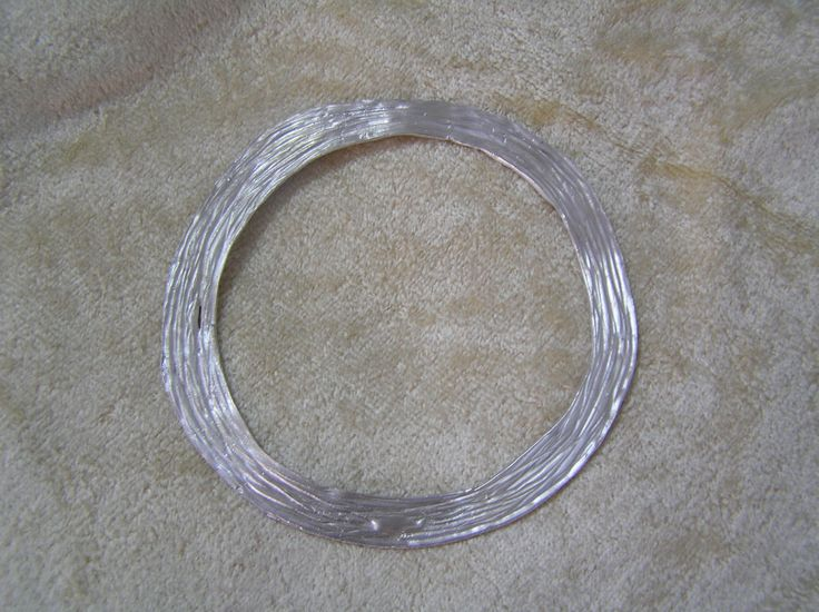 Silver bracelet by StoneSeeds on Etsy