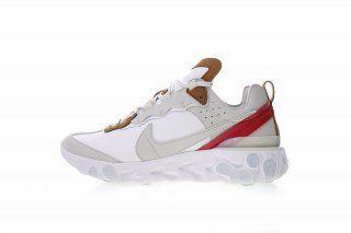 7b57b0e8ac3cf Nike React Element 87 Sail Light Bone White AQ1090-101 Women s Men s  Running Shoes Sneakers