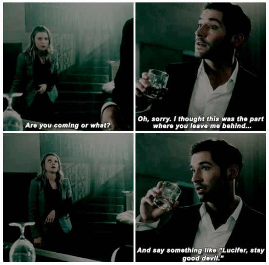Lucifer 1x02 - Lucifer, Stay. Good Devil. <--- that eye roll though... lol