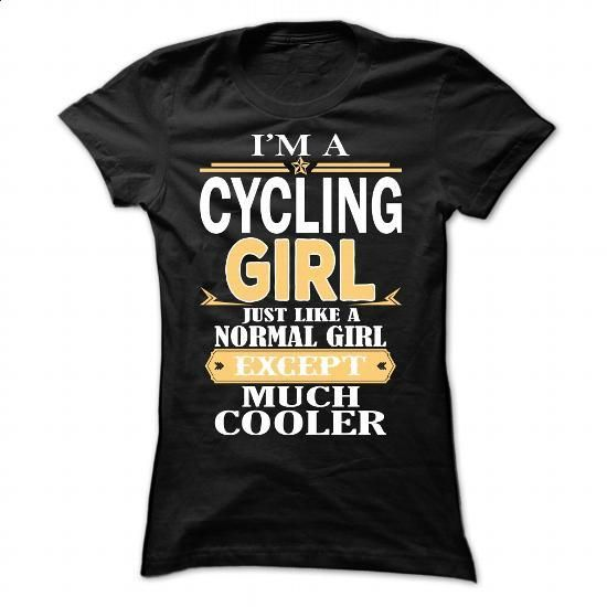 Cycling Girl - #cheap tee shirts #wholesale sweatshirts. PURCHASE NOW => https://www.sunfrog.com/Fitness/Cycling-Girl-114104834-Ladies.html?60505