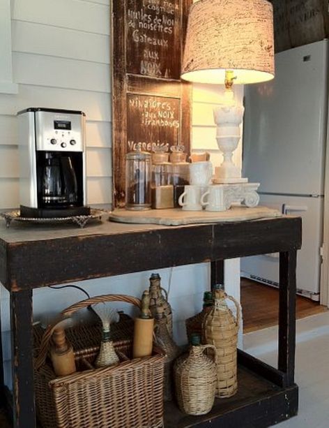 My kind of coffee station