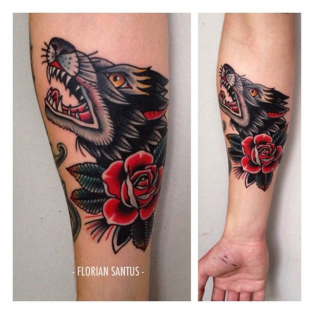 Traditional Wolf: Top 25+ Best Wolf Tattoo Traditional Ideas On Pinterest