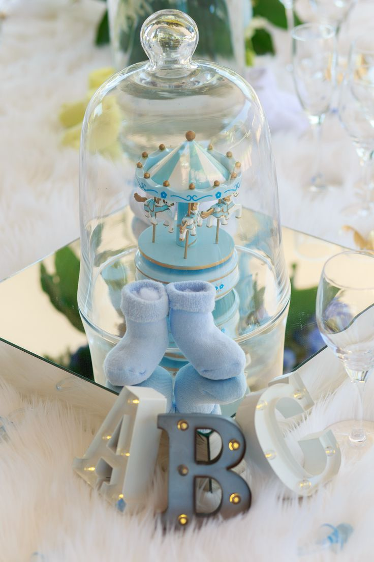 Posh baby shower - blue - it's in the details #babyshowerdecorations