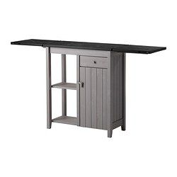 It's easy to extend the table top for serving, or any time you need more surface space. The top folds out in two directions and doubles in s...