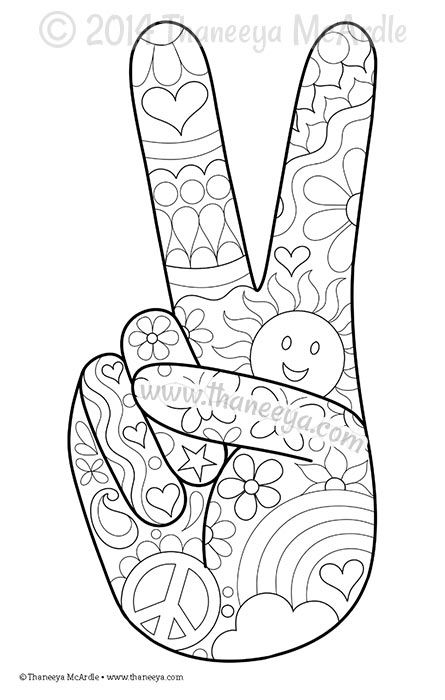 Color Fun Coloring Page Blank by Thaneeya
