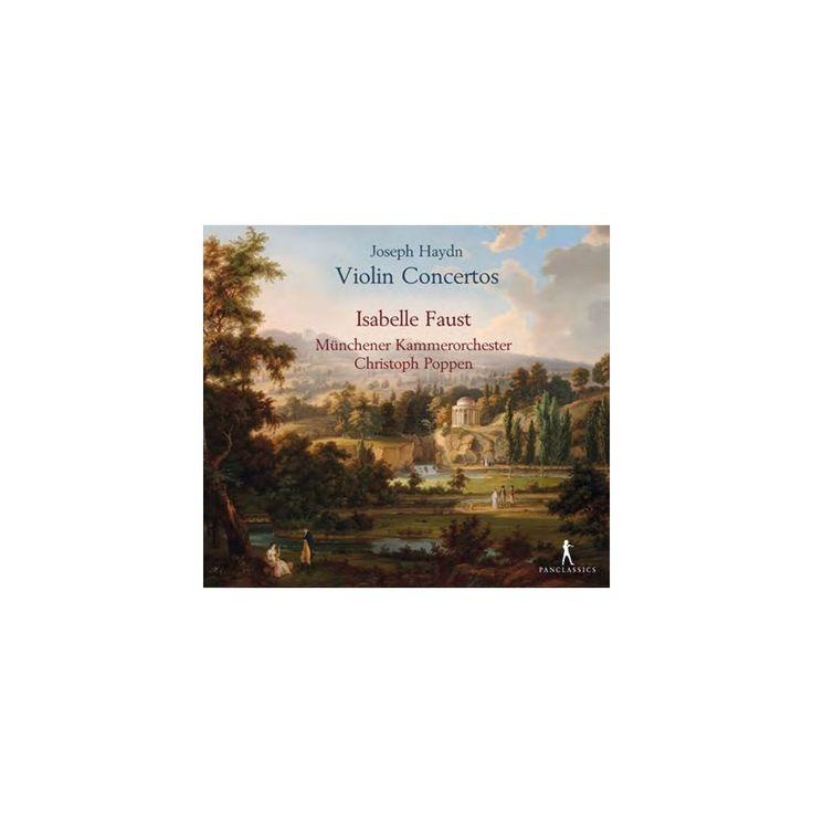 J. Haydn & Isabelle Faust & Christoph Poppen - Haydn: Violin Concertos (CD)