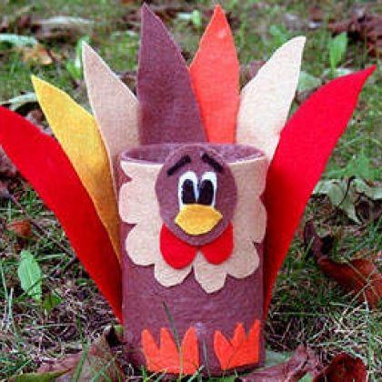 Tin Can Turkey Craft by @Amanda Formaro