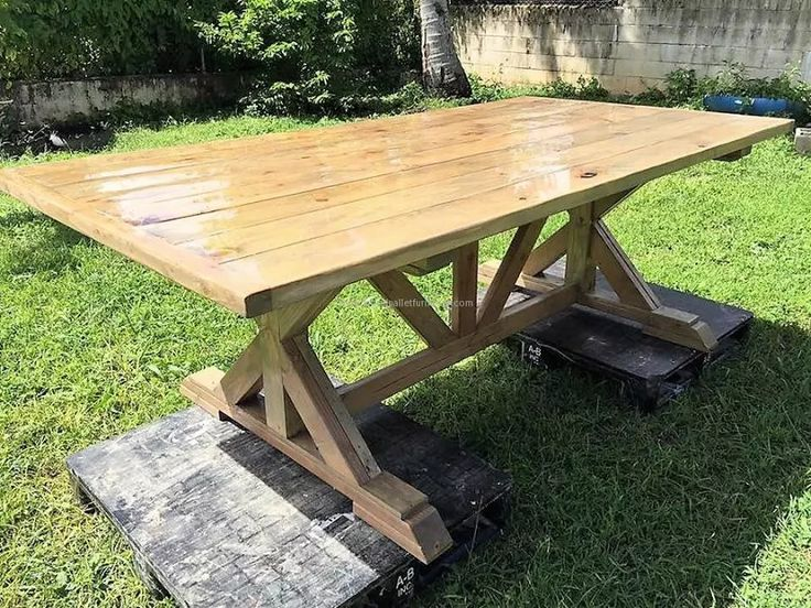You can paint the dining table once it is made and you can turn it into any shape that you like. There are a lot of ideas that you can follow but these things are not too important. The one thing that you need to know is how to find the perfect wood for making a table.