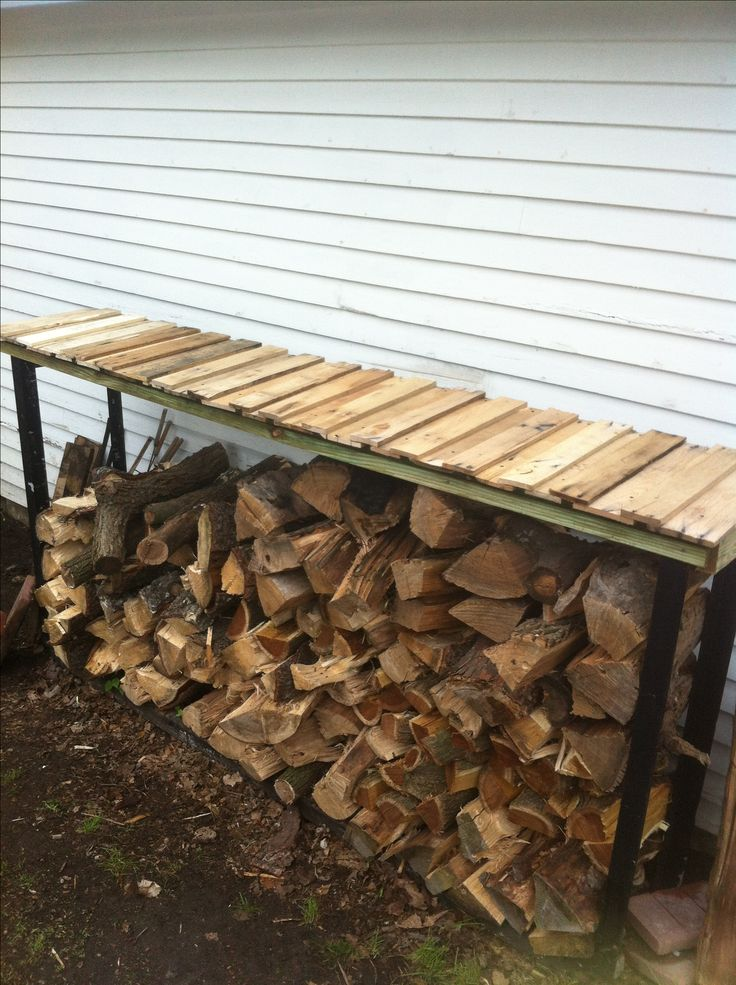 How To Build A Firewood Shed - Mdm Builds A Firewood Shed ...