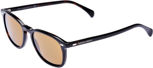 NEW Giorgio Armani Oval Women's Sunglasses - Havana GA 836/S Size: 51-19-145  #GiorgioArmani #Oval