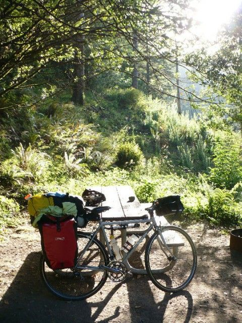 interview with a girl who solo-bike-camped from portland to san francisco in 12 days
