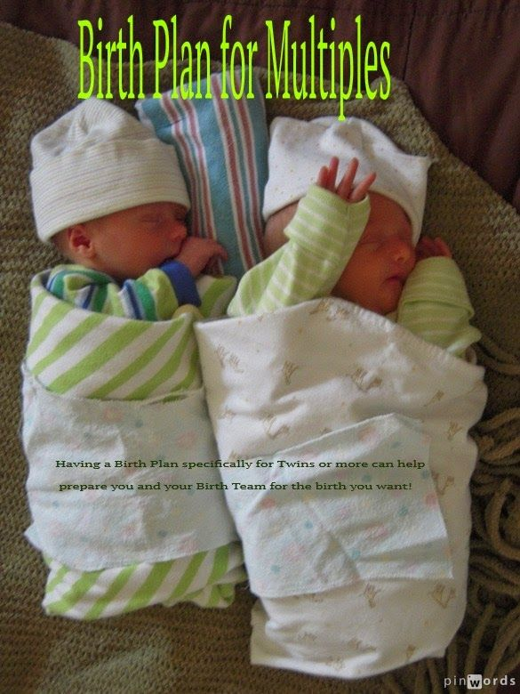 Radiant Birth : Birth Plan for Twins or More