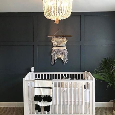 17 Best Images About Black And White Nursery On Pinterest Small Space Nursery Nursery Wall