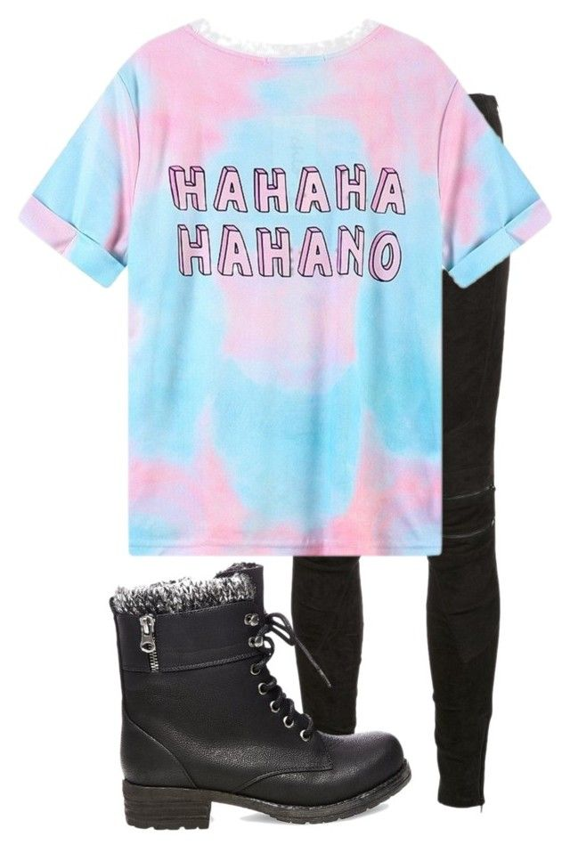 """""""Untitled #5"""" by thatonegirl232 on Polyvore featuring Yves Saint Laurent and Steve Madden"""