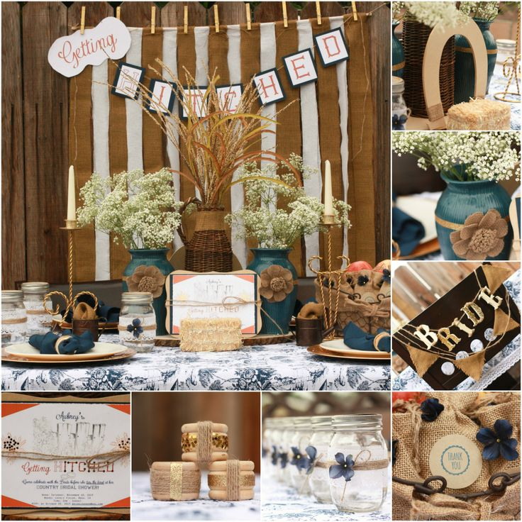 bridal shower themes for spring%0A Fall in love with this countrychic DIY bridal shower on the blog today