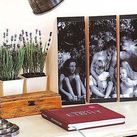 M s de 1000 im genes sobre ideas de decoraci n en pinterest - Cuadros con fotos familiares ...