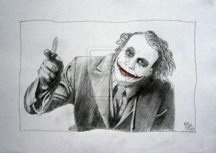 Joker Scribble Drawing : Best my drawings images