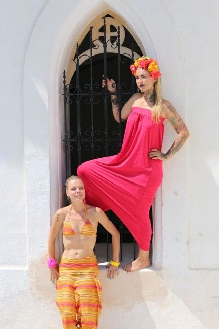 Jaydee Tucker SS15 Ibiza shoot, models Joyce Gils & Anne-Rixt Gast, styling by PeggyJane Delilah and photography by B@rbel