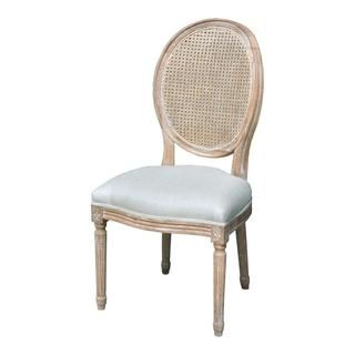 Elements Weathered Oak Cane Back Dining Chairs (Set of 2) - Overstock Shopping - Great Deals on Dining Chairs