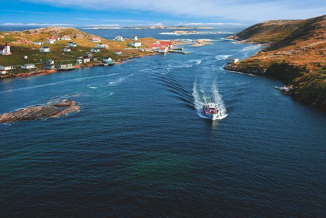 Battle Harbour by Newfoundland and Labrador Tourism, via Flickr