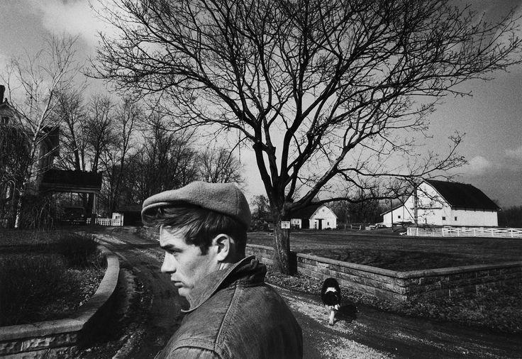 James Dean, por Dennis Stock, el fotógrafo que lo inmortalizó para la revista LIFE