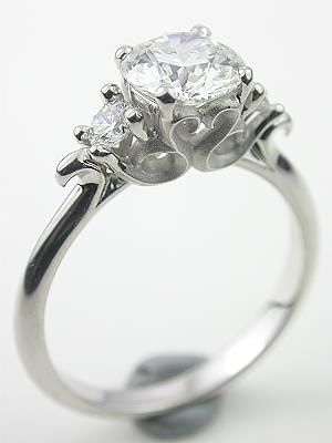 I might consider saying yes just for this ring! WOW! But, then I'd need a body guard too :)