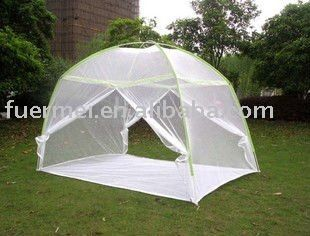 Folded Mongolia Mosquito Net Tent/ Bed Canopy/Free  Standing Mosquito Net