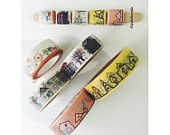 Washi Stick-Zodiac & floral by PublicMilk on Etsy
