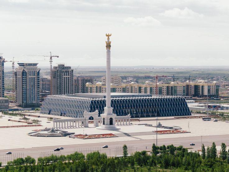 Степь 2.0  Астана - город построенный в степи, поражает масштабами и красотой архитектуры
