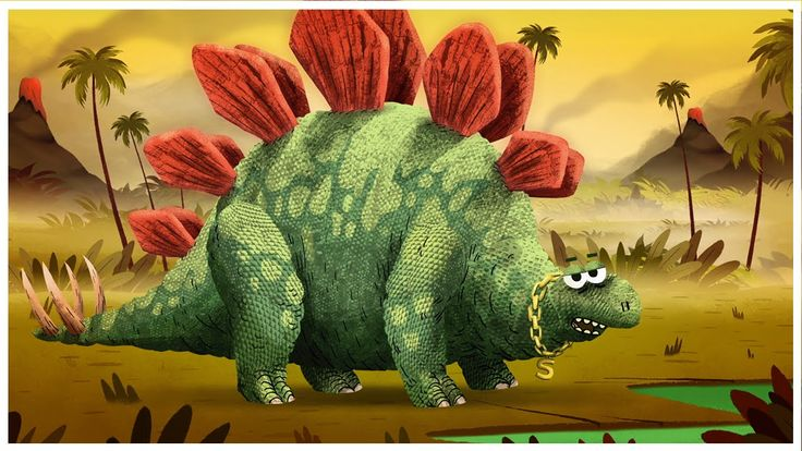 """Stegosaurus,"" Dinosaurs Songs by StoryBots"