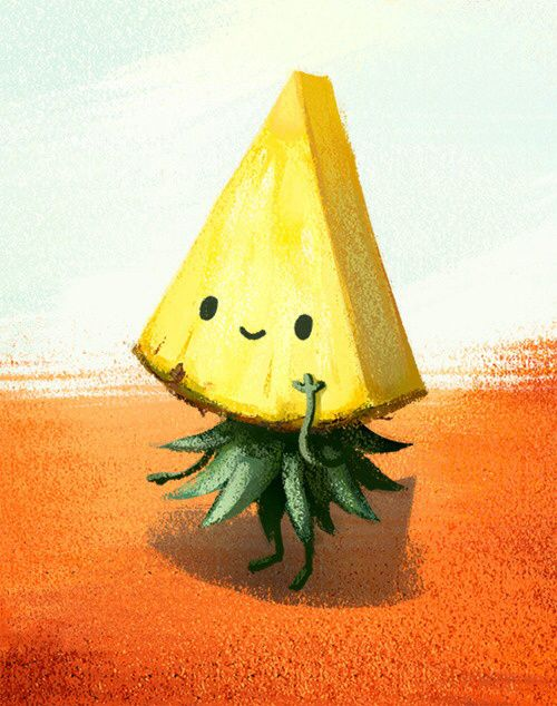 cute pineapple drawing. pineapple drawing tumblr - google search cute