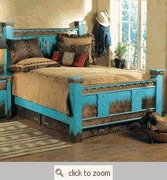 I love the color & the rustic look!