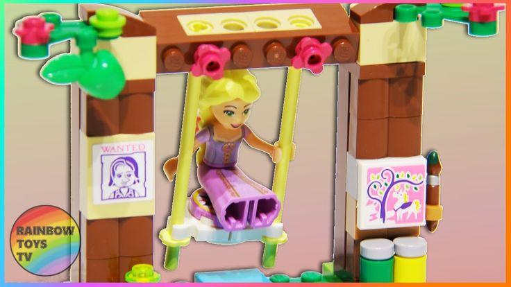 LEGO Toys | Disney Princess Rapunzel's Best Day Ever set Stop Motion Build video: https://youtu.be/EFfhLYKMer0