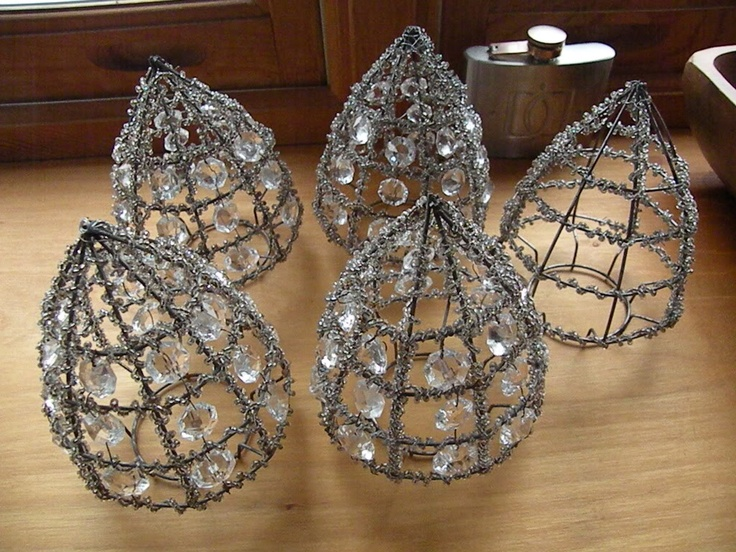 Antique Beaded Lampshade Bing Images