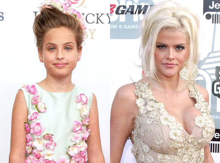Larry Birkhead has raised the little girl, who's a spitting image of her mother