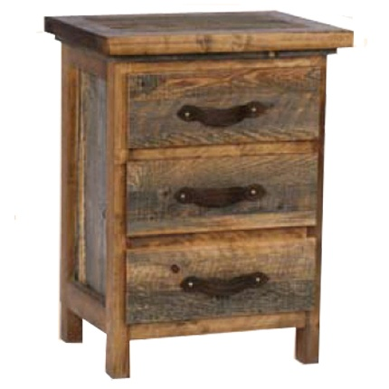 Wyoming 3 Drawer Nightstand: Dreams Bedrooms, Decor Ideas, Drawers Nightstand, Home Interiors Design, High Camps, Interiors Ideasfurnitur, Homes, Rustic Bedrooms Furniture, Interiors Ideas Furniture