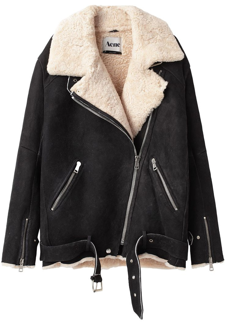 Acne / Velocite Oversized Shearling Jacket    want so so so so bad