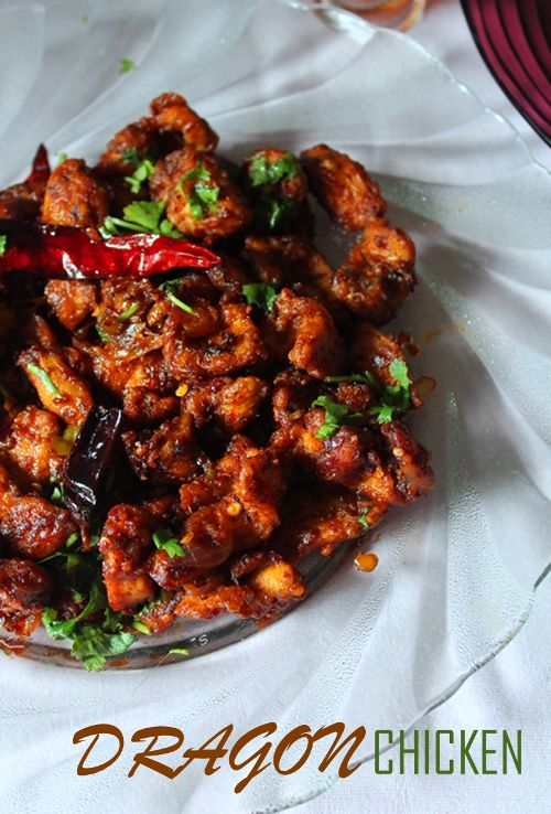 YUMMY TUMMY: Dragon Chicken Recipe - Restaurant Style.  Very interesting site.