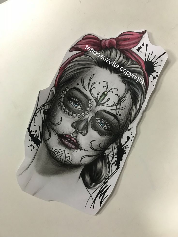467 best sugar skull images on pinterest tattoo designs tattoo ideas and chicano tattoos. Black Bedroom Furniture Sets. Home Design Ideas