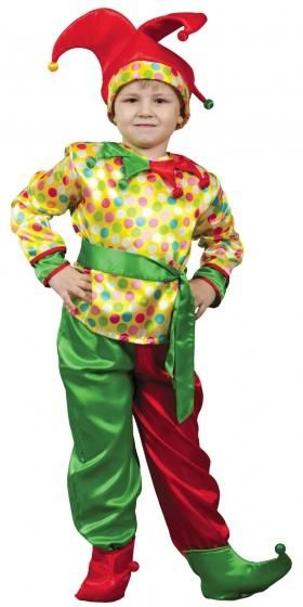 Купить детский карнавальный костюм петрушки