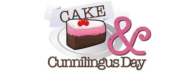 April 14th it is time to celebrate Cake & Cunnilingus Day!