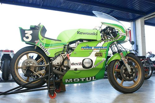 Kawasaki Godier-Genoud (Bol d'Or 1976)