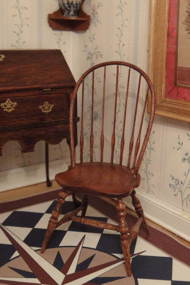 Artisan Edward Nortonu0027s Bow Windsor Chair Signed