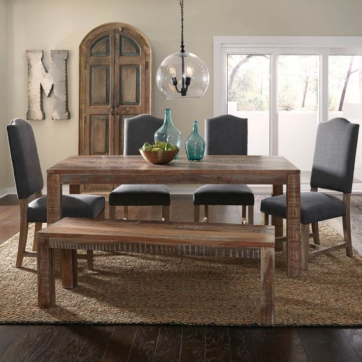 Kitchen Table Alternatives: Best 25+ Dining Table With Bench Ideas On Pinterest